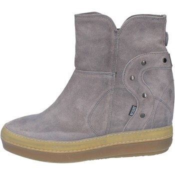 Chaussures Femme Bottines Rucoline chaussures femme  bottines gris daim BY551 gris