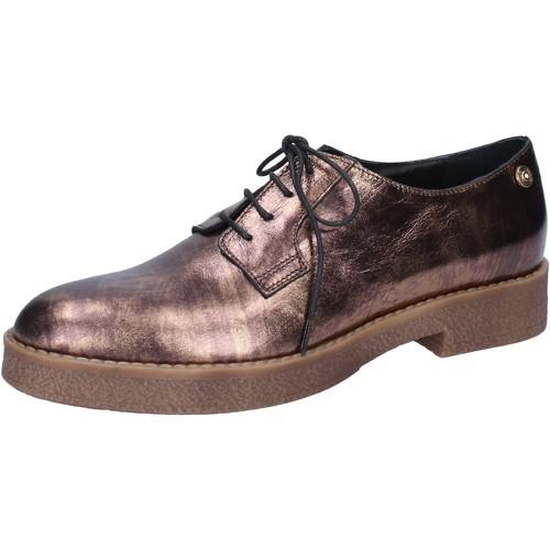 Chaussures Femme Mocassins Liu Jo élégantes bronze cuir BY591 autres