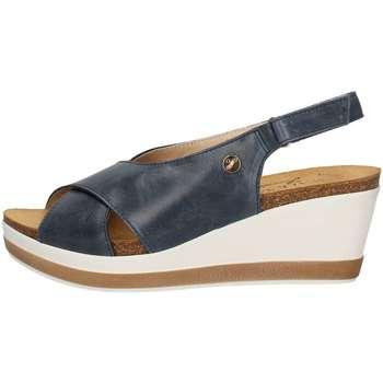 Chaussures Femme Sandales et Nu-pieds Susimoda 2721/24 Sandales Femme Bleu Bleu