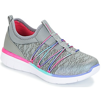 Chaussures Fille Baskets basses Skechers SYNERGY 2.0 gris