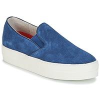 Chaussures Femme Slips on Skechers UPLIFT bleu