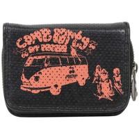 Sacs Femme Porte-monnaie A Découvrir ! Porte monnaie Pacha motif minibus Noir / Orange
