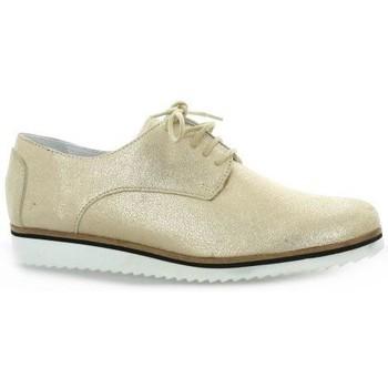 Chaussures Femme Derbies Elizabeth Stuart Derby cuir laminé  sable Sable