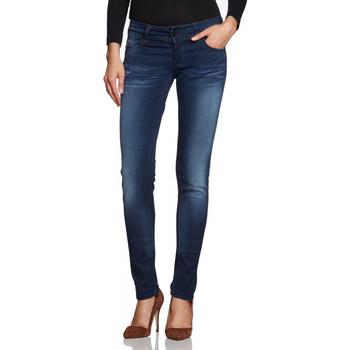 Vêtements Femme Jeans slim G-Star Raw Jean  Lynn Skinny Comfort Mute Denim Dark Aged Bleu
