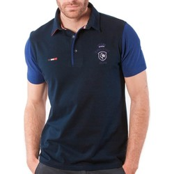 Vêtements Homme Polos manches courtes Shilton Polo Rugby Team Bicolore Navy