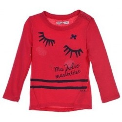 Vêtements Fille Sweats Le Petit Marcel E7404 SWEAT FUSCHIA