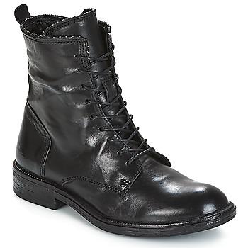 Chaussures Femme Boots Mjus PAL LACE Noir