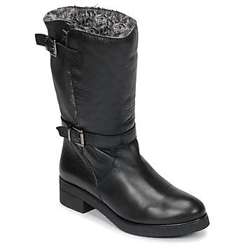 Chaussures Femme Boots Unisa DALI NOIR