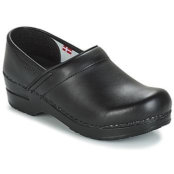 Chaussures Sabots Sanita PROF Noir