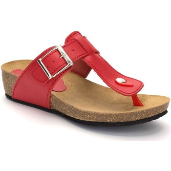Chaussures Femme Tongs Morxiva Shoes  Rouge