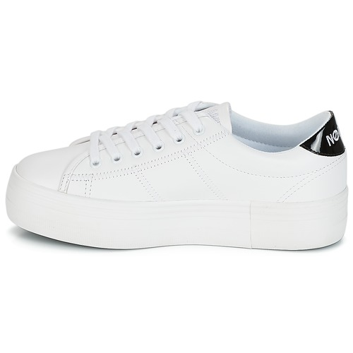 Plato Baskets Femme No Name Blanc Sneaker Basses 7IY6gyvfb