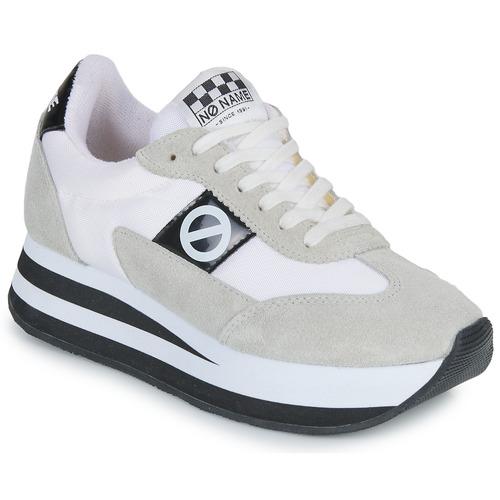 Chaussures Femme Baskets basses No Name FLEX JOGGER Blanc