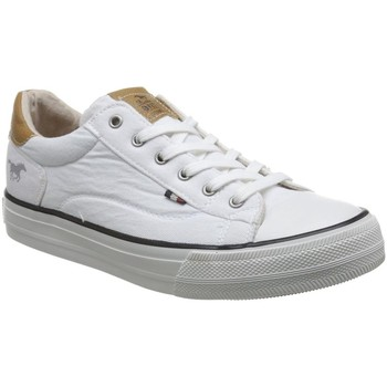 Chaussures Femme Baskets basses Mustang 1272-301 blanc