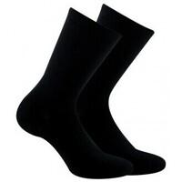 Accessoires Femme Chaussettes Kindy Pack chaussettes non comprimantes vendues en lot de 2 paires Noir