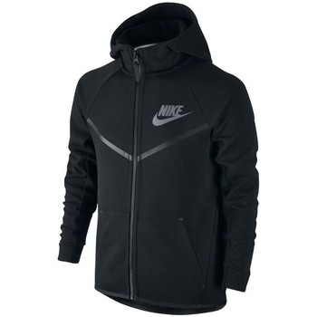 Vêtements Sweats Nike SPORTSWEAR TECH FLEECE WINDRUNNER Noir