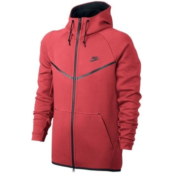 Vêtements Sweats Nike SPORTSWEAR TECH FLEECE WINDRUNNER SWEAT À CAPUCHE ZIPPÉ rouge