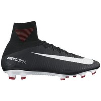 Chaussures Football Nike MERCURIAL SUPERFLY V FG Noir