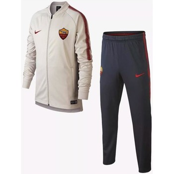 Vêtements Ensembles de survêtement Nike A.S. ROMA DRI-FIT SQUAD Survêtement  de football Gris bbde94aaf45a
