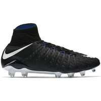 Chaussures Football Nike HYPERVENOM PHANTOM 3 DF FG Noir