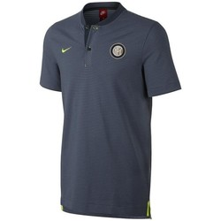 Vêtements Polos manches courtes Nike POLO INTER MILAN AUTHENTIQUE THIRD 2017/18 Gris