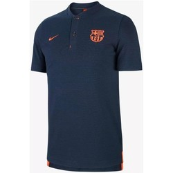 Vêtements T-shirts manches courtes Nike FC BARCELONA MODERN AUTHENTIC GRAND SLAM Polo pour Homme bleu