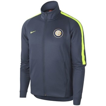 75da9090a260e Vêtements Vestes de survêtement Nike VESTE INTER MILAN THIRD 2017 18 Gris