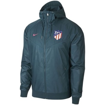 Vêtements Blousons Nike ATLETICO DE MADRID AUTHENTIC WINDRUNNER bleu