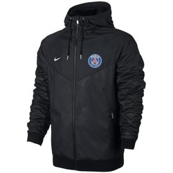 Vêtements Coupes vent Nike Men's Paris Saint-Germain Windrunner Jacket Noir