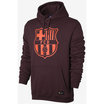 Vêtements Sweats Nike FC BARCELONA CREST SWEAT À CAPUCHE DE FOOTBALL POUR HOMME rouge