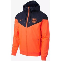 Vêtements Blousons Nike Men's FC Barcelona Windrunner Jacket orange