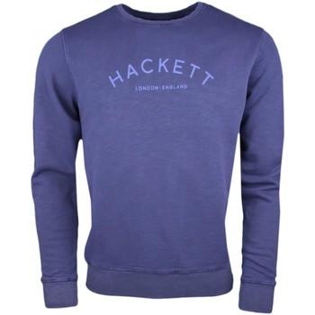 Vêtements Homme Sweats Hackett Sweat col rond  bleu marine pour homme Bleu