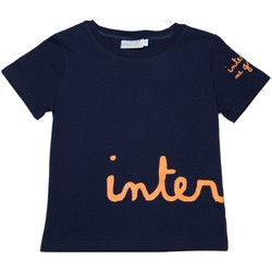 Vêtements Enfant T-shirts manches courtes Interdit De Me Gronder Big Bleu