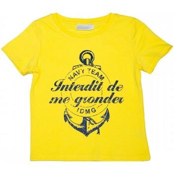 Vêtements Enfant T-shirts manches courtes Interdit De Me Gronder NEW JERSEY Jaune