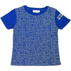 Vêtements Enfant T-shirts manches courtes Interdit De Me Gronder PUZZLE Bleu