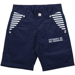 Vêtements Garçon Shorts / Bermudas Interdit De Me Gronder Marinero Bleu