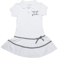 Vêtements Fille Robes Interdit De Me Gronder Magnifique Blanc