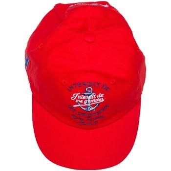 Accessoires textile Enfant Bonnets Interdit De Me Gronder Casquette POLE Rouge