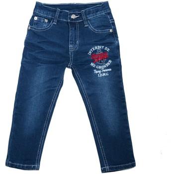 Vêtements Enfant Jeans droit Interdit De Me Gronder Jean SLIX Bleu