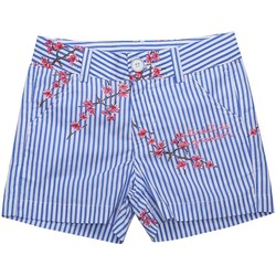 Vêtements Fille Shorts / Bermudas Interdit De Me Gronder Short KUNA Bleu