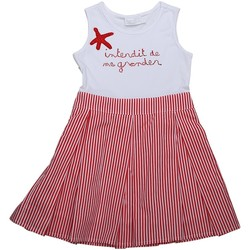 Vêtements Fille Robes Interdit De Me Gronder Robe sans manches VICTORIA Rouge