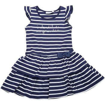 Vêtements Fille Robes Interdit De Me Gronder Robe sans manches EGLANTINE Bleu