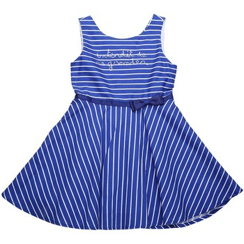Vêtements Fille Robes Interdit De Me Gronder Robe sans manches YING Bleu