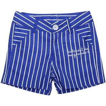 Vêtements Fille Shorts / Bermudas Interdit De Me Gronder Short KASITA Bleu