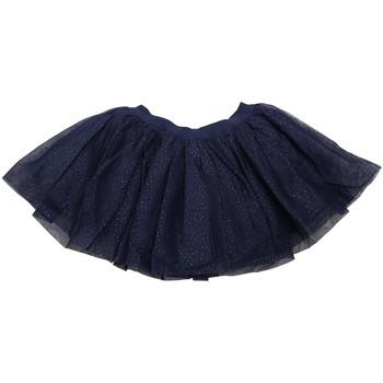 Vêtements Fille Jupes Interdit De Me Gronder Jupe à volants pailletés VINATA Bleu
