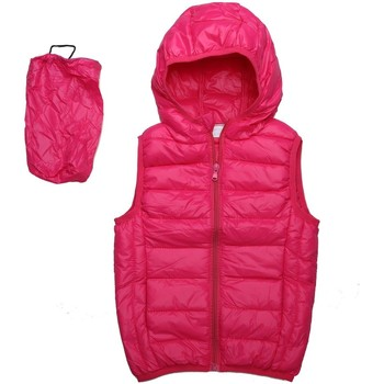 Vêtements Enfant Doudounes Interdit De Me Gronder Doudoune sans manches HOT Rose fushia