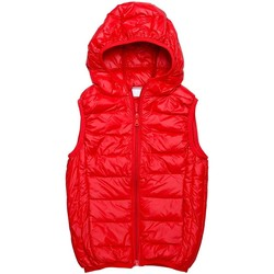 Vêtements Enfant Doudounes Interdit De Me Gronder Hot Rouge