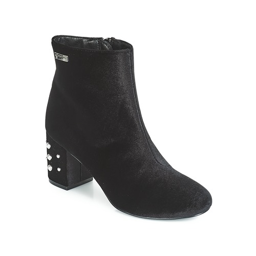 Les Tropéziennes par M Belarbi CHANNON Noir  - Chaussures Bottine Femme