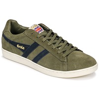 Chaussures Homme Baskets basses Gola Equipe Suede Kaki/marine