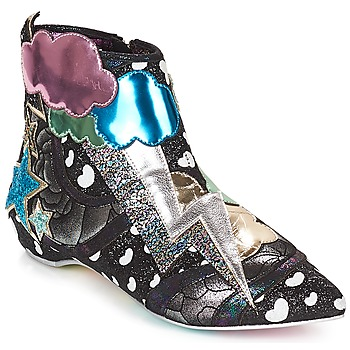Chaussures Femme Boots Irregular Choice Electric boots Black / silver