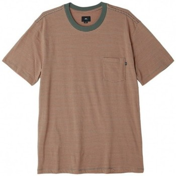 Vêtements Homme T-shirts manches courtes Obey T-Shirt  Wisemaker Pocket Tee - Dusty Rose Multi Rose